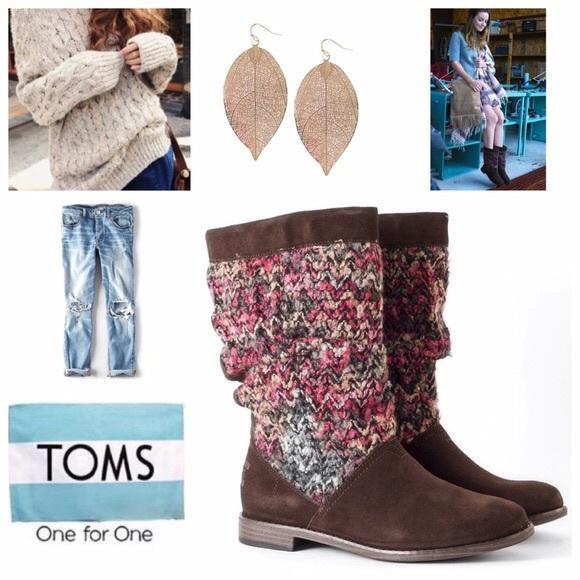 Toms Shoes | Serra Boots | Poshmark